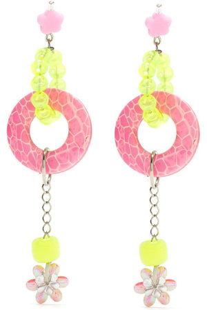 AMIR SLAMA Women Earrings - Charms hoops earring