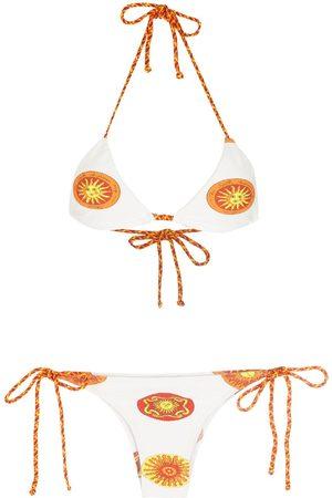 AMIR SLAMA Women Sets - Print Sol bikini set