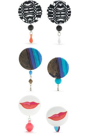 AMIR SLAMA Women Earrings - 3 pair earring set