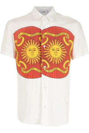 AMIR SLAMA Men Short sleeves - Print Sol short sleeves shirt