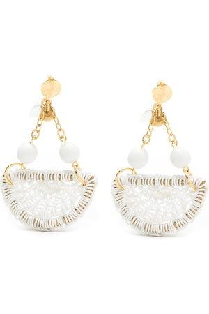 AMIR SLAMA Women Earrings - Crochet earrings