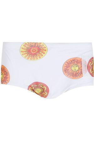 AMIR SLAMA Print Sol swimming trunks