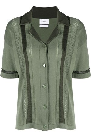 Barrie Embroidered short-sleeve shirt