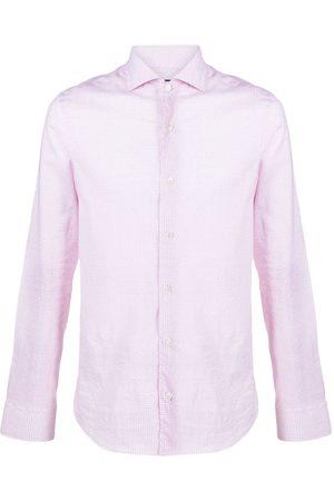 FEDELI Micro-pattern shirt