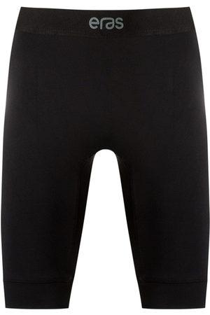 AMIR SLAMA Men Sports Shorts - Elasticated slim-fit shorts