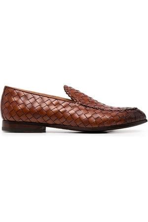 Scarosso Men Loafers - Vittorio interwoven loafers