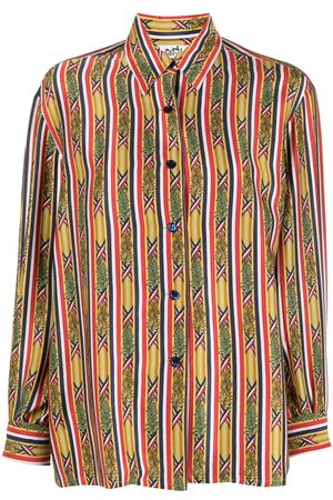 Hermès Women Tops - Pre-owned striped print shirt