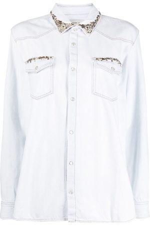 Golden Goose Women Long Sleeve - Stud-embellished shirt