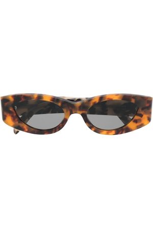 Retrosuperfuture Sunglasses - Tortoise-effect cat-eye sunglasses