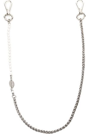 Dsquared2 Men Accessories - Faux pearl-embellished chain
