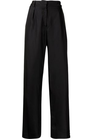 Bondi Born Women Formal Trousers - Palisades silk tailored trousers