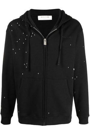 1017 ALYX 9SM Men Hoodies - Embellished zip-up hoodie