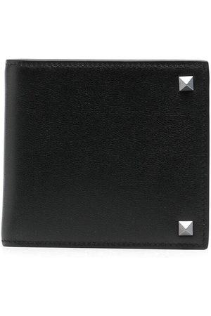 VALENTINO GARAVANI Men Wallets - Rockstud leather wallet