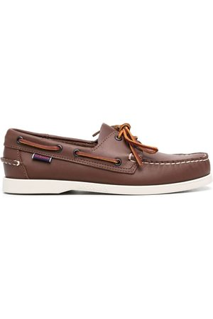 SEBAGO Women Loafers - Lace-up leather loafers