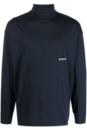 AMBUSH Logo-print roll-neck top