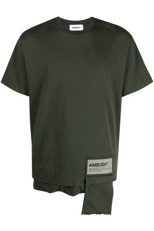 AMBUSH Short Sleeve - Logo-patch short sleeve T-shirt