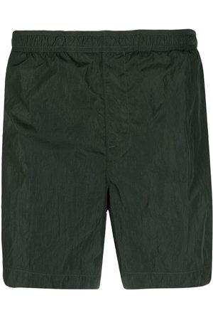 C.P. Company Men Swim Shorts - Logo-patch detail swim shorts