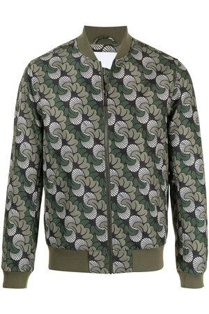 Ports V Bomber Jackets - Abstract-print bomber jacket