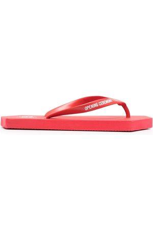 Opening Ceremony Women Slippers - Geometric-sole logo flip flops