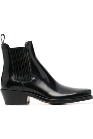 Buttero Women Ankle Boots - Patent leather ankle boots