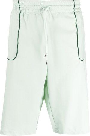 Drôle de Monsieur Men Bermudas - Contrast-trim shorts