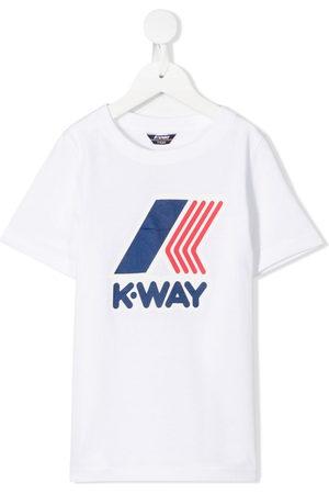 K-Way Logo print T-shirt