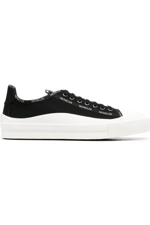 Moncler Men Sneakers - Glissiere low-top canvas sneakers