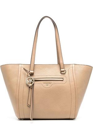 Michael Kors Women Handbags - Carine medium pebbled-leather tote bag