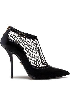 Dolce & Gabbana Women Heels - Net overlay pumps