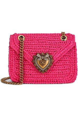 Dolce & Gabbana Women Shoulder Bags - Medium Devotion crochet crossbody bag