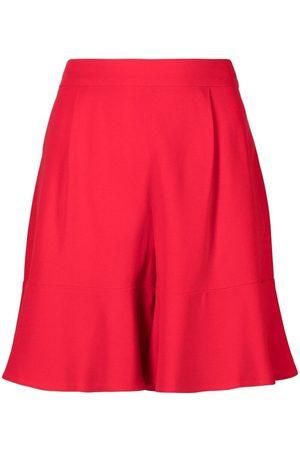 L'Autre Chose Women Shorts - Flared high-waisted shorts
