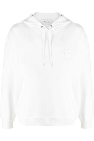 Nanushka Ever embroidered logo hoodie