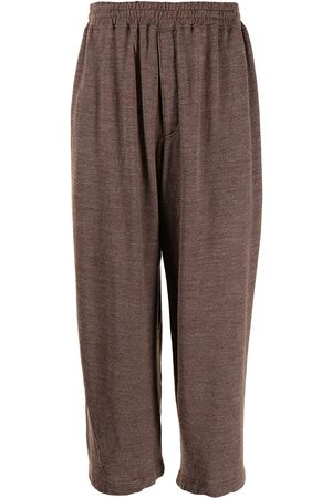 Comme des Garçons Men Wide Leg Trousers - Wide-leg cropped trousers