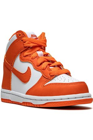 Nike Boys Sneakers - Dunk High Syracuse leather sneakers