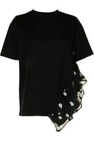 BAPY BY *A BATHING APE® Women Short Sleeve - Embroidered-logo cotton T-shirt