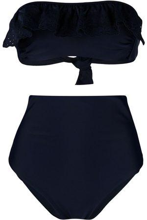 P.a.r.o.s.h. Women Bikinis - Niky lace-detail bikini