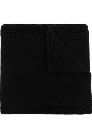 Rick Owens Fine knit cashmere-wool scarf