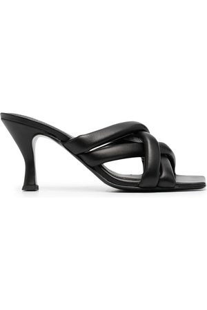 Ash Women Flats - Crossover-strap leather mules