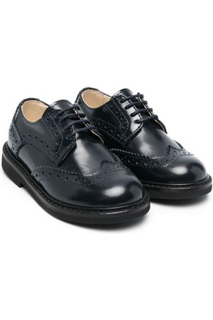 MONTELPARE TRADITION Boys Brogues - Leather lace-up brogues