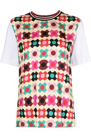 La DoubleJ Sciura geometric-print T-shirt