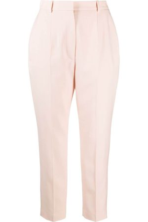 Alexander McQueen Women Formal Trousers - High-waisted tailored trousers