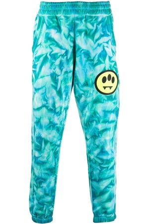 BARROW Men Slim Trousers - Tie dye-print slim-fit track pants