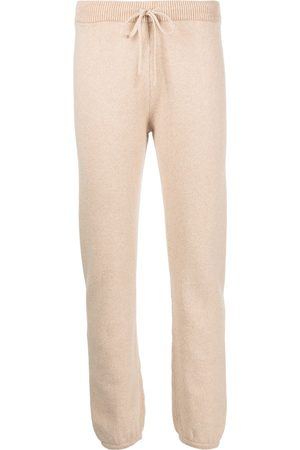 JOHN ELLIOTT Two-tone wool-blend knit trousers
