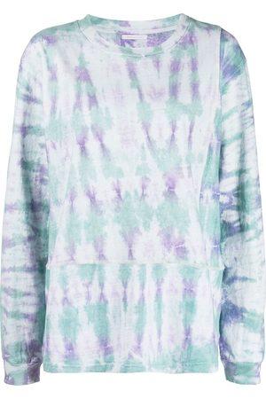 JOHN ELLIOTT Women Long Sleeve - Tie-dye print long-sleeve T-Shirt
