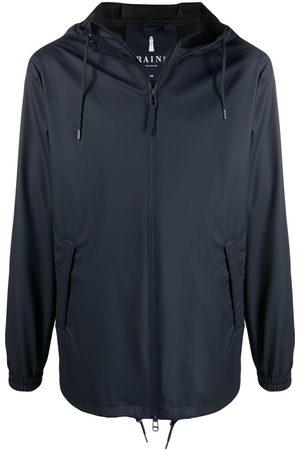 Rains Zip-up hooded jacket