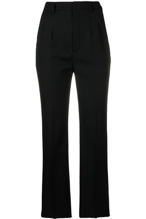 Saint Laurent High-waisted tailored trousers