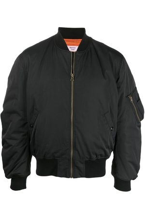 MARTINE ROSE Logo zipped bomber jacket