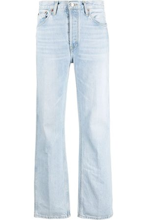 RE/DONE Women Bootcut & Flares - The High Rise loose-fit jeans