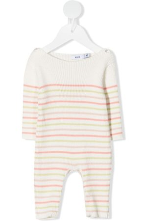 KNOT Girls Jumpsuits - Love Stripes knitted jumpsuit