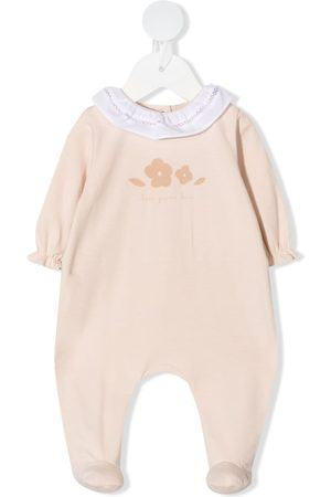 KNOT Rompers - Floral embroidered babygrow
